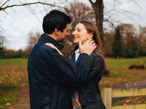 Outdoor Engagement shoot in the beautiful Moreton-in-Marsh