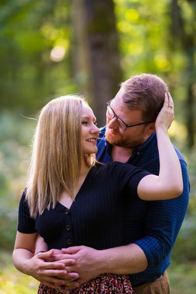 Megan & Daniel Engagement Shoot, Wytham