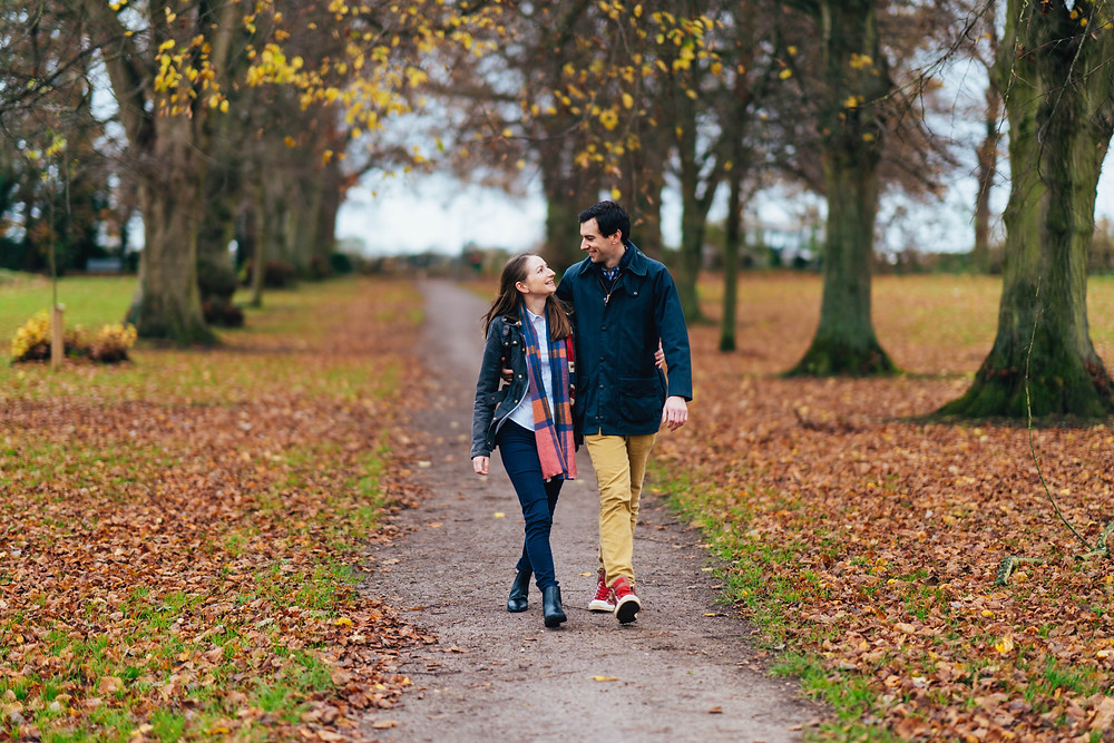 Tips For Loving Your Engagement Shoot, Cotswold Wedding Photography, Pittville Park