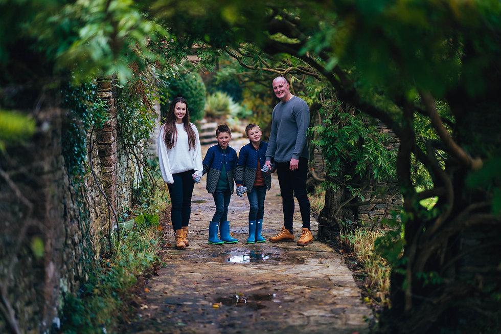 Family Photoshoot, Glenfall House,  Char