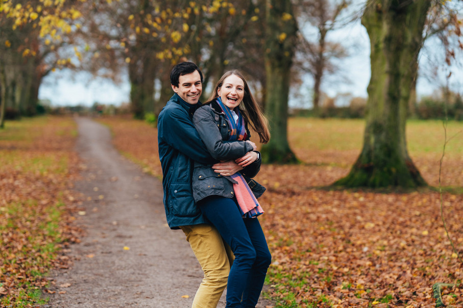 S&J, Autumn Engagement Session, Moreton,