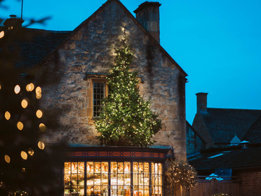Broadway, Cotswolds at Christmas