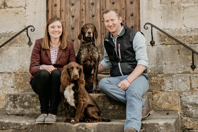 Roxy & Bertie, Pet Photography, Cotswold
