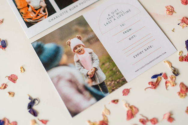 Photography Gift Vouchers, Cotswolds Pho