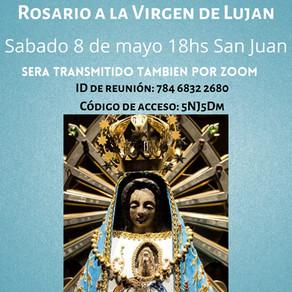 Rezamos juntos a la Virgen de Luján