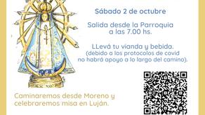 Caminemos juntos al encuentro de Nuestra Señora de Luján