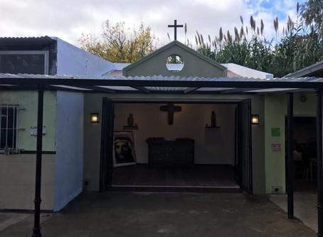 Inauguramos el oratorio de la Casita