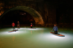 Stand Up paddleboarding (SUP) in the Night