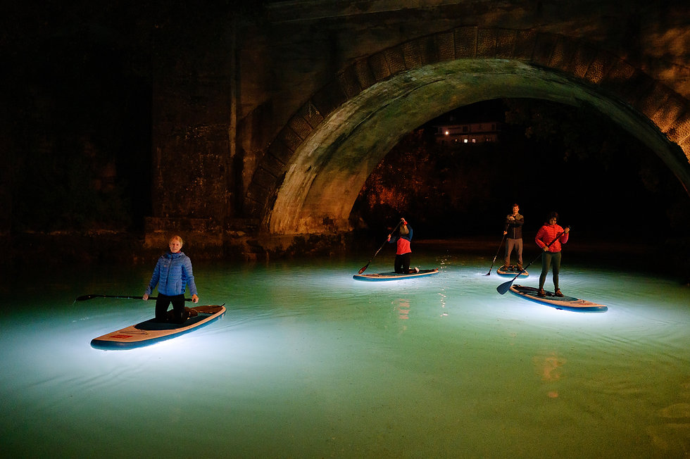 Night SUP Stand Up paddle board  Bovec P