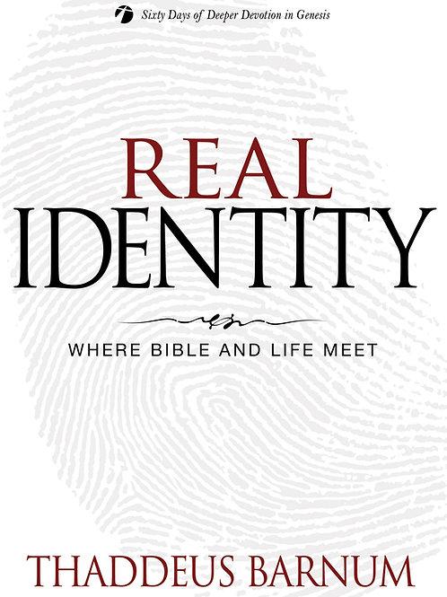 Real Identity by Thaddeus Barnum