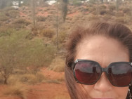 West Australia with Sacred Mt Uluru in b