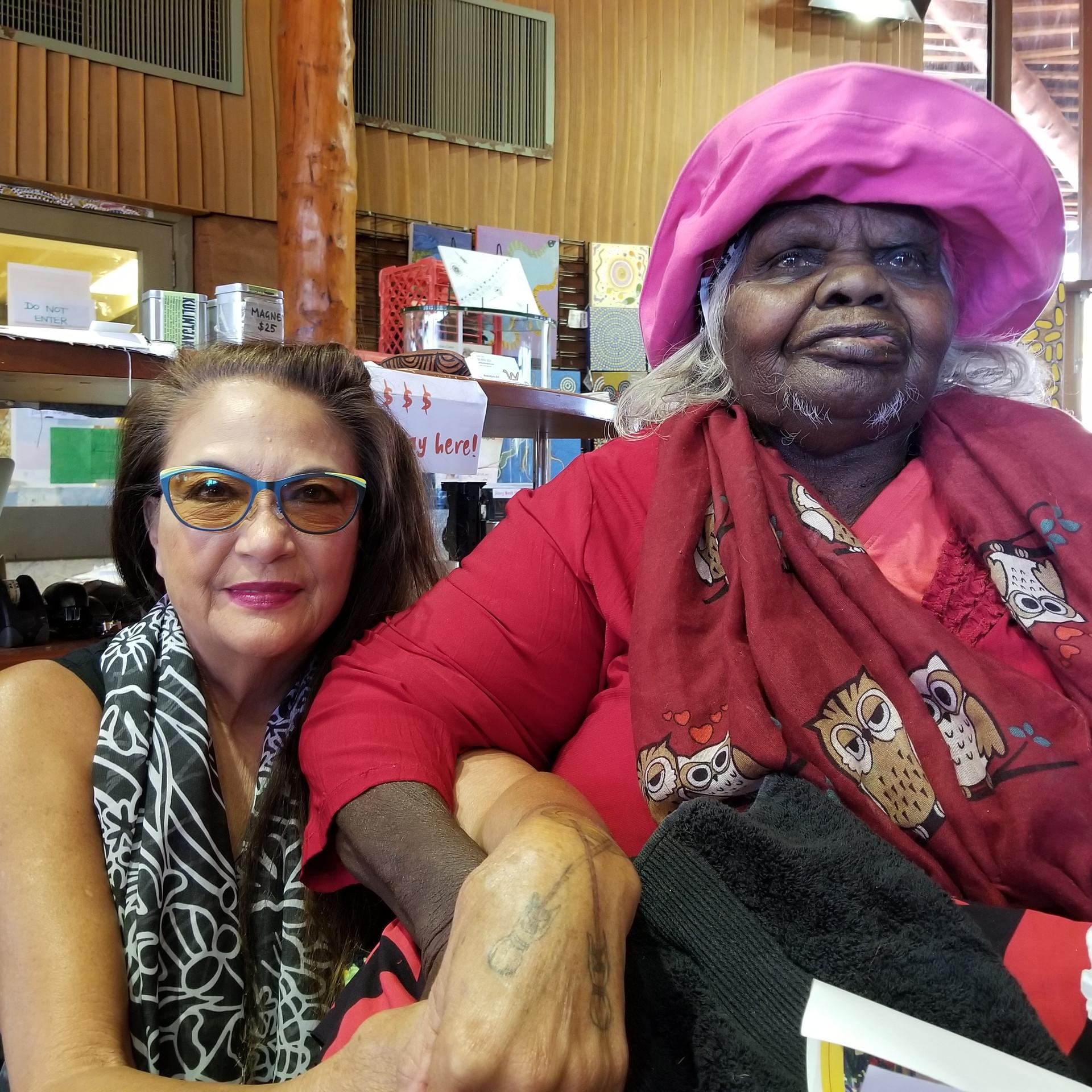 Me and Auntie Nellie, Elder of West Australia
