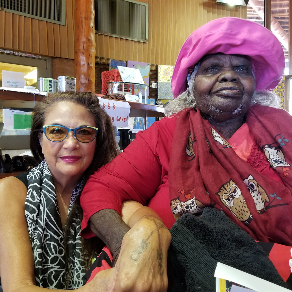 Me and Auntie Nellie, Elder of West Australia