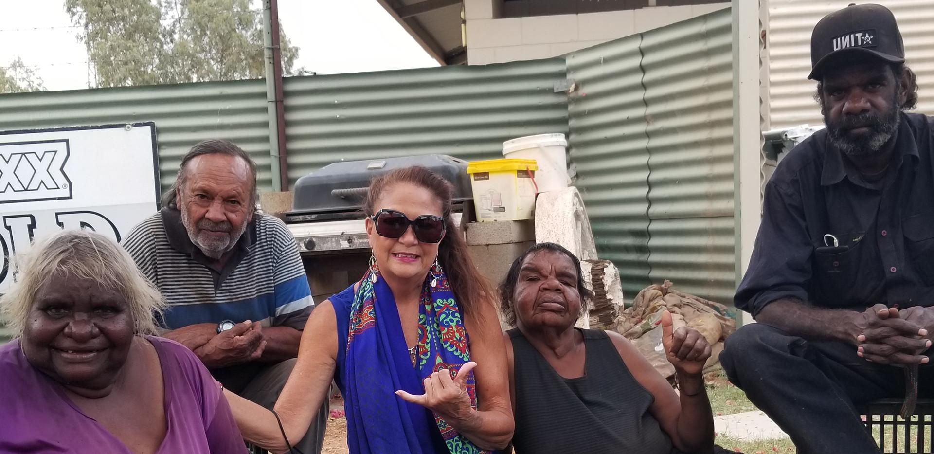 Time with Aboriginal Elders Nov 2019
