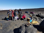 Ceremony on Maunaloa with group from Isr