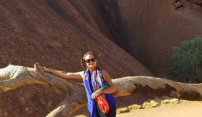 Visiting Sacred Mountain Uluru