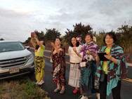 Korean Halau Group Visiting Kaua'i Islan