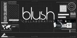 9998. Blush Branding Mockup