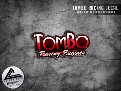 Tombo Racing Django Decal