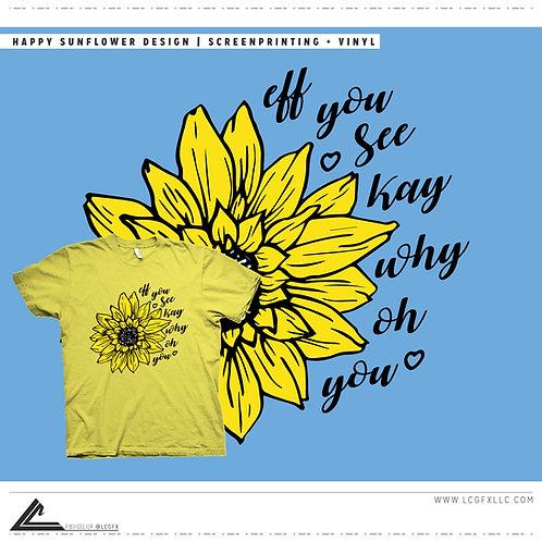 Happy Sunflower Tee