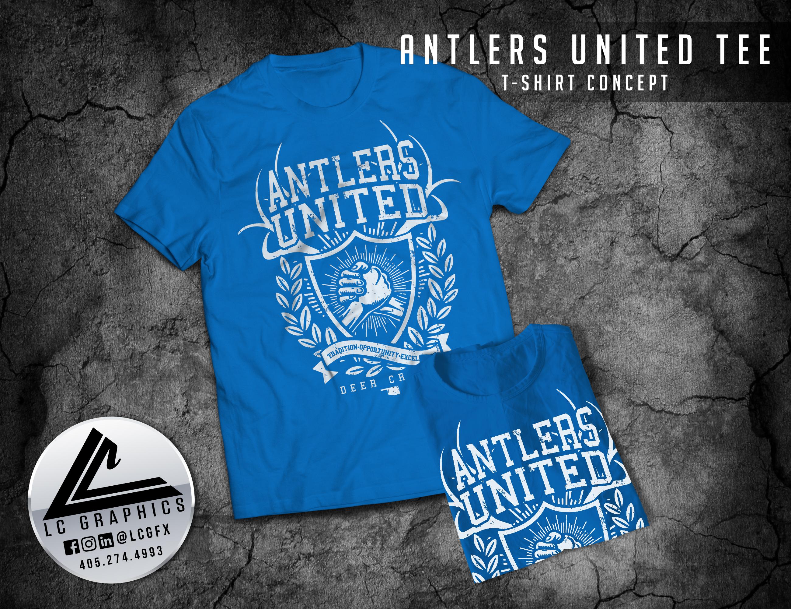 Antlers United Tee
