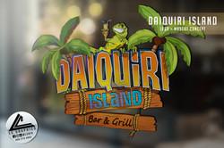 Daiqueri Island Logo Mockup