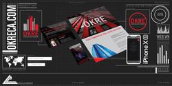 10007. OKRECA Website Mockup