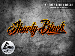 Shorty Black Decal