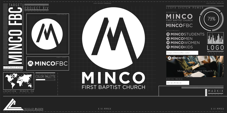 10004. MincoFBC Logo Mockup