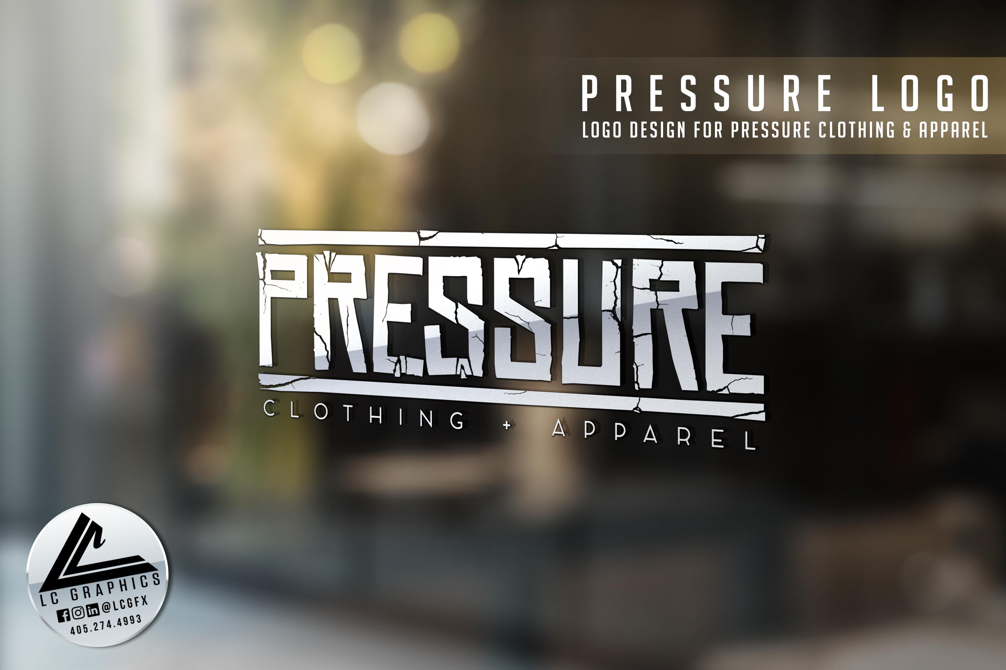 Pressue Logo Mockup