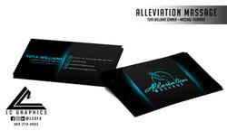 Alleviation Massage 2021 Business Cards