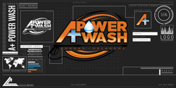 9999. A+ Power Wash Mockup
