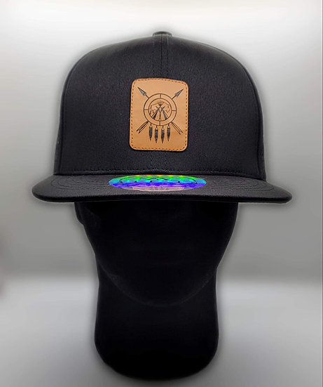 MTN LEATHER PATCH HAT