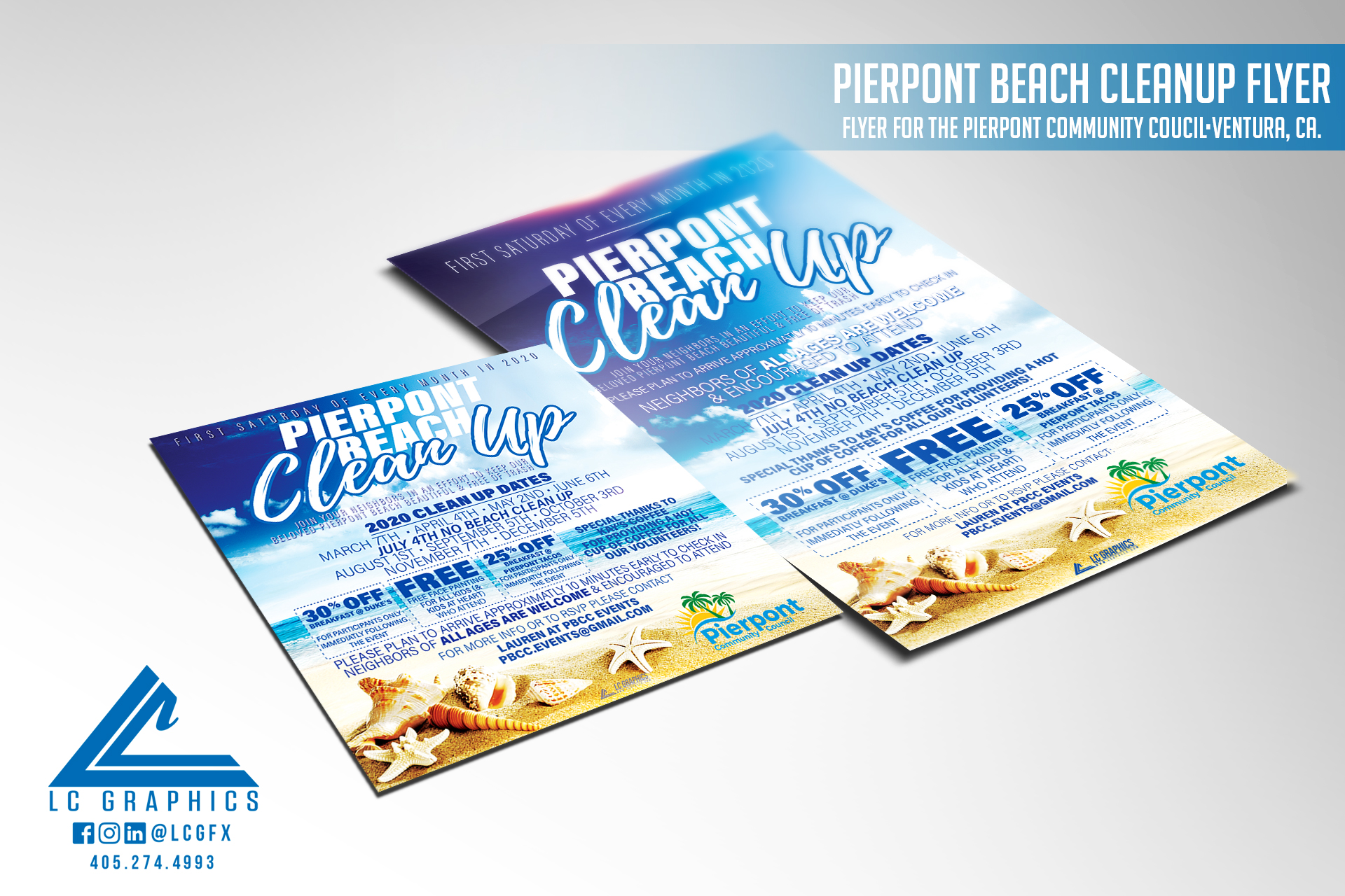 Pierpnt Beach Flyer Mockup