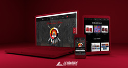 Modern Tribal Nations Website Mockup