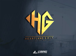 Heartland Grit Logo Mockup 2