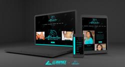 Alleviation Massage Website Mockup