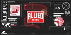 10002. Allied Fence Logo Rebuild