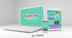 Wagging Tail 603 Website Mockup