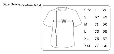 T-shirt, value (men's) - Size guide.png