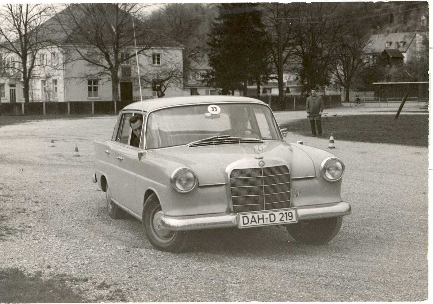 Slalom des AC Dachau 1965