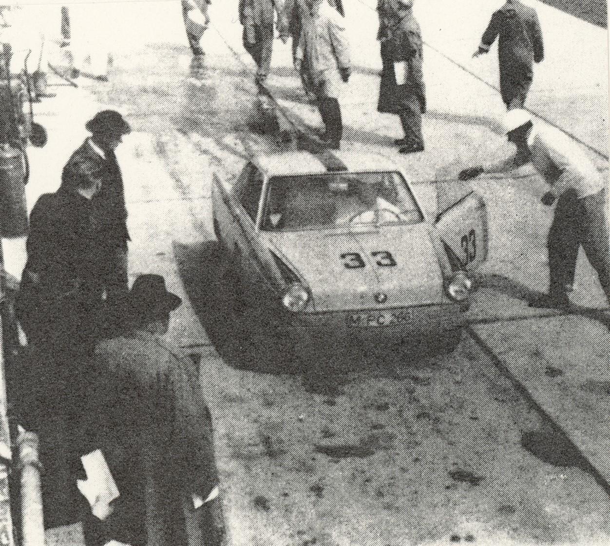 Sepp Greger mit Hans Stuck 1960
