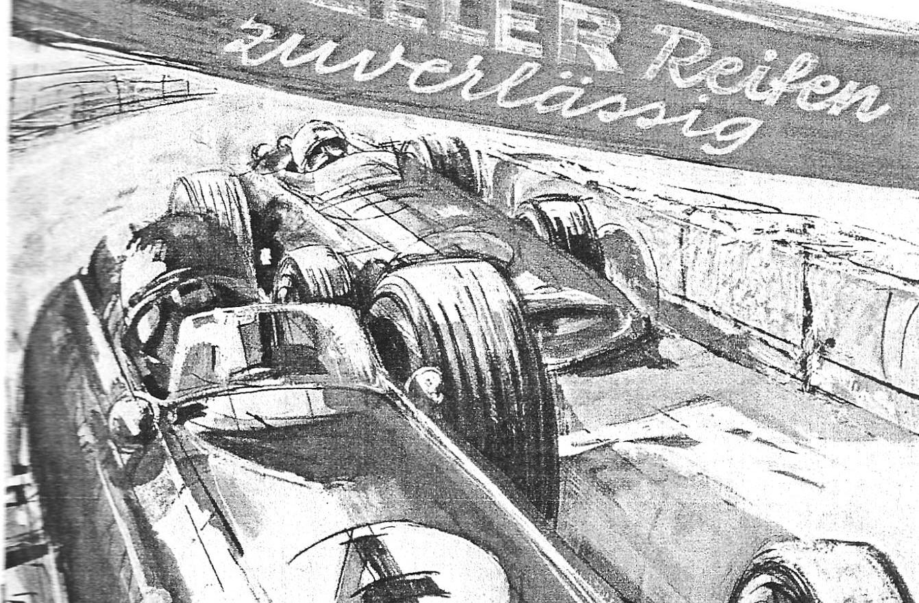 Ausschreibung Flugplatzrennen 1974