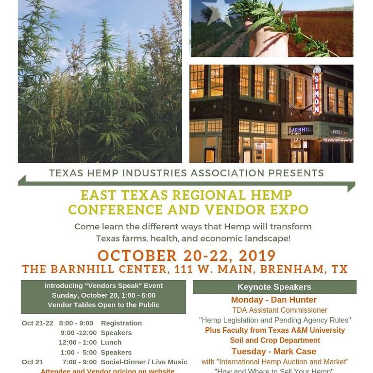 East Texas Regional Hemp Conference