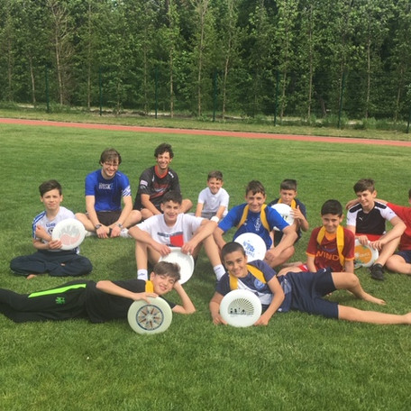 Frisbee Workshop