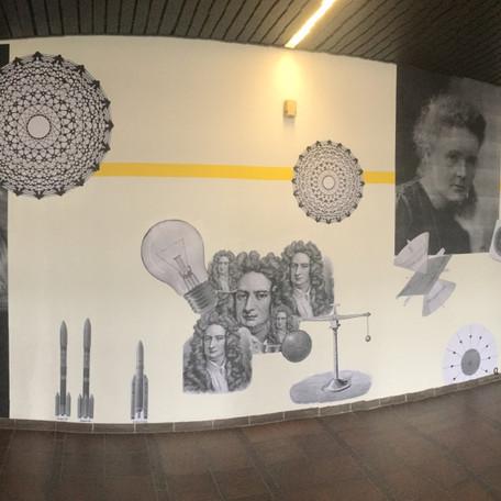 Einstein, Starwars und Kunst = Das Brigittenauer Gymnasium