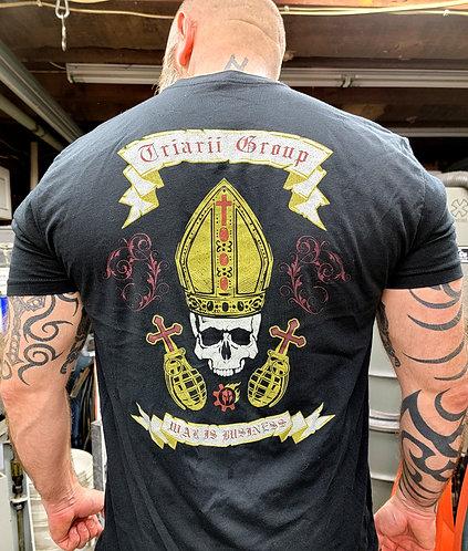 Triarii Group Death Pope Tees