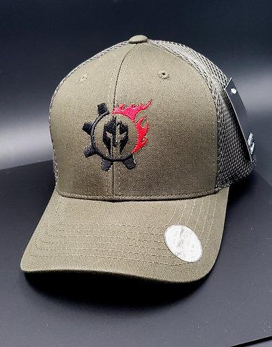 Triarii Flex Fit Hats : OD Green
