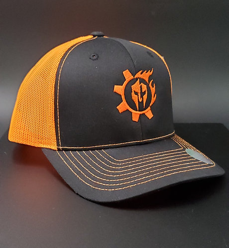 Orange Triarii Trucker