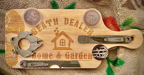 Death Dealer Cutting Board
